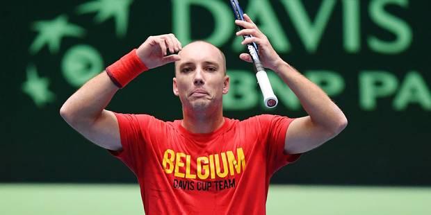 Coupe Davis: Darcis est la principale victime du forfait de Goffin - La Libre