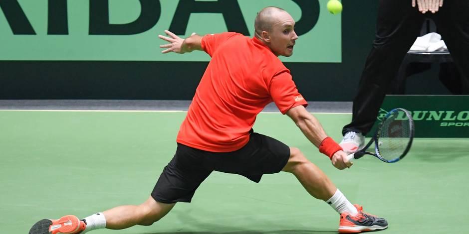 Coupe Davis: Steve Darcis crée l'exploit face à Zverev et envoie la Belgique en quarts!