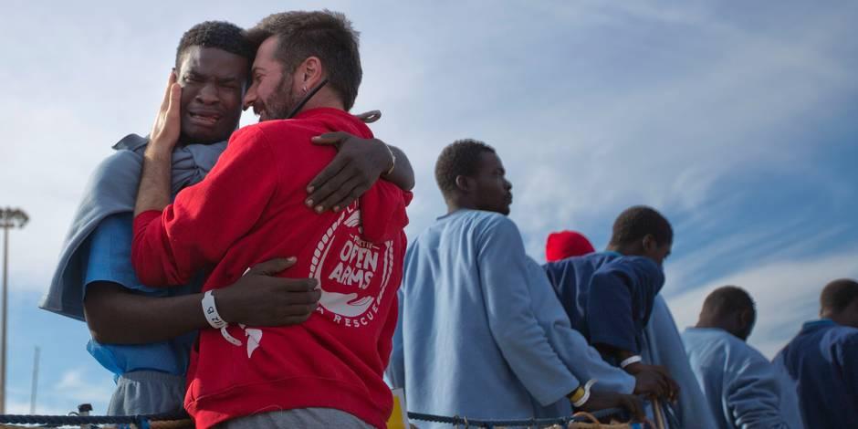 1.500 migrants secourus en Méditerranée ce week-end, 4.500 depuis mercredi