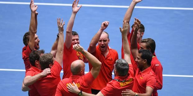 """Steve Darcis, héros de la Coupe Davis: """"Avec un tel esprit d'équipe, rien n'est impossible"""" - La Libre"""