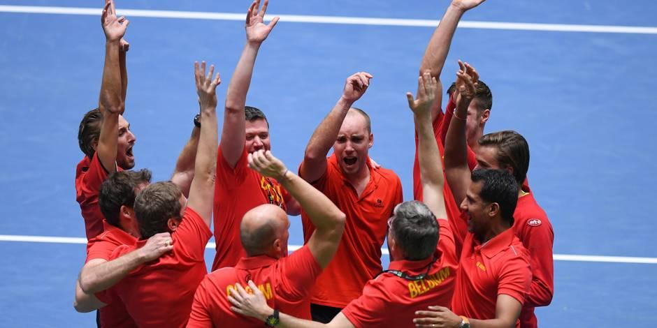 """Steve Darcis, héros de la Coupe Davis: """"Avec un tel esprit d'équipe, rien n'est impossible"""""""
