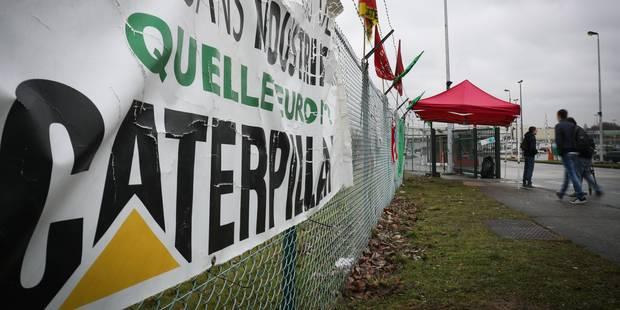 Caterpillar Gosselies: les discussions ont pris fin vendredi sur un résultat incertain - La Libre