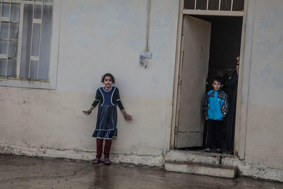 ***1er prix General News***  Les forces spéciales irakiennes fouillent une maison à Gogjali, à la recherche de membres de l'EI, équipementsou autre preuve