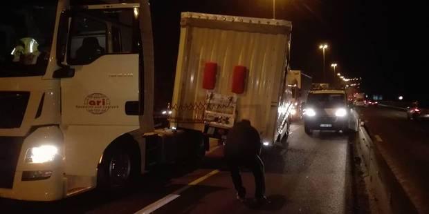 Double accident à Cheratte et autoroute E40 fermée vers Bruxelles - La Libre