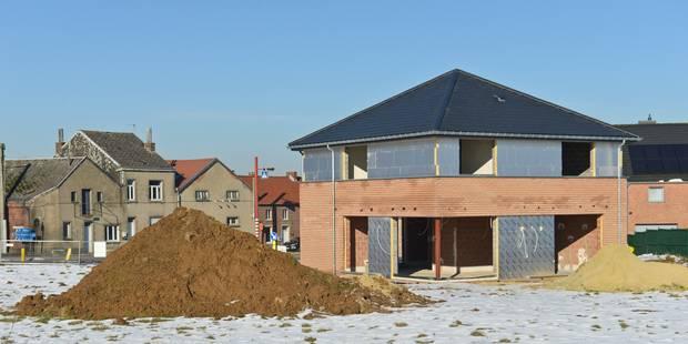 La construction résidentielle neuve à la traîne en Wallonie - La Libre