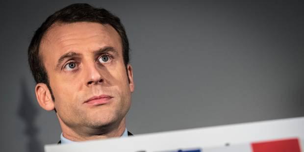 """Sondage """"Dedicated"""" : Emmanuel Macron président de la République - La Libre"""