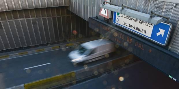 Perturbations attendues avec le lancement des travaux du tunnel Porte de Hal - La Libre