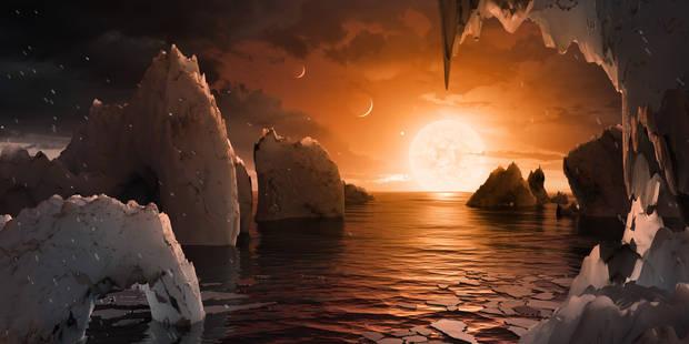 """Des Liégeois découvrent 7 nouvelles planètes, """" les meilleures cibles pour trouver de la vie"""" dans la galaxie (VIDÉO) - ..."""