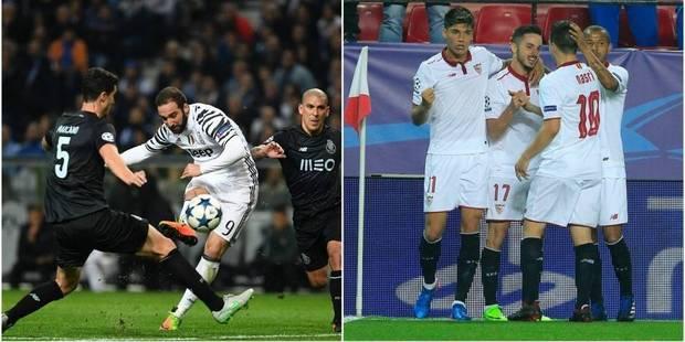 Ligue des Champions: la Juve assure face à Porto (0-2), Leicester garde espoir malgré la défaite à Séville (2-1) - La Li...