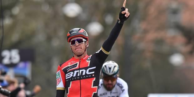 """Van Avermaet s'offre encore Sagan, Boonen souffre du genou, Gilbert en """"manque de rythme"""" - La Libre"""