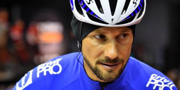 Tom Boonen forfait pour Kuurne-Bruxelles-Kuurne - La Libre