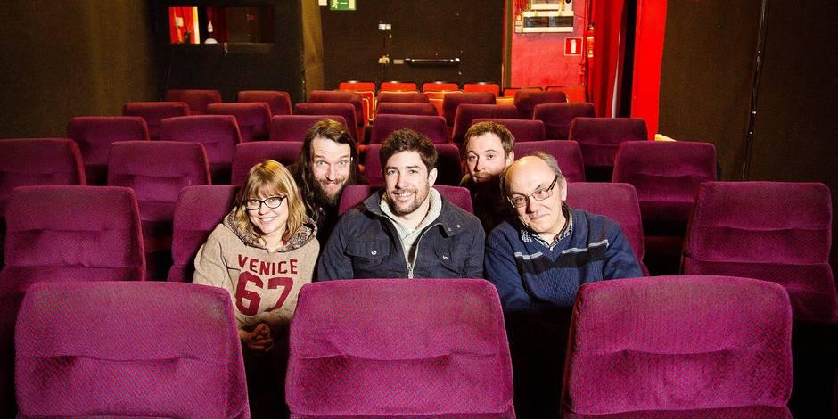"""Liège : le théâtre """"L'Allée des Artistes"""" : une partie de l' équipe"""