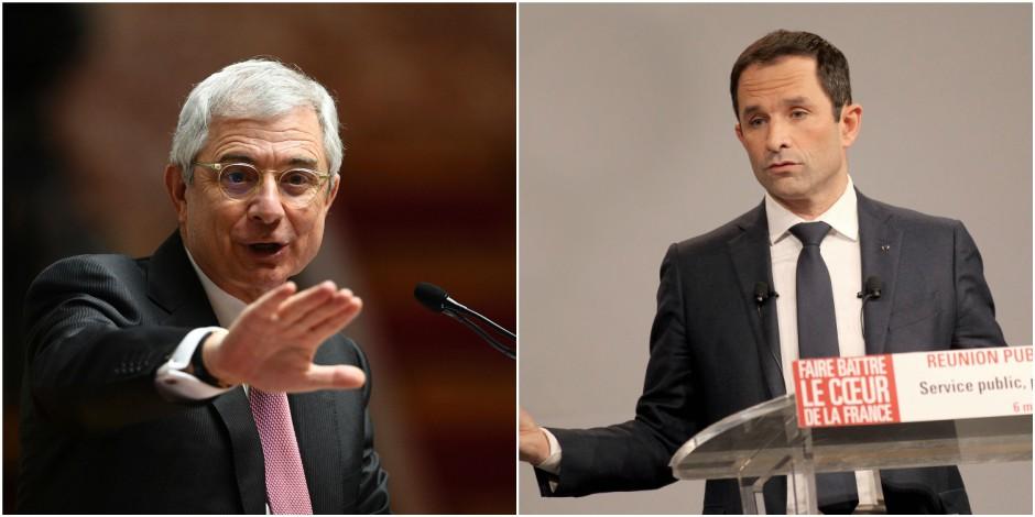 """La gauche (aussi) se divise: Bartolone a """"des divergences de fond"""" avec Hamon"""