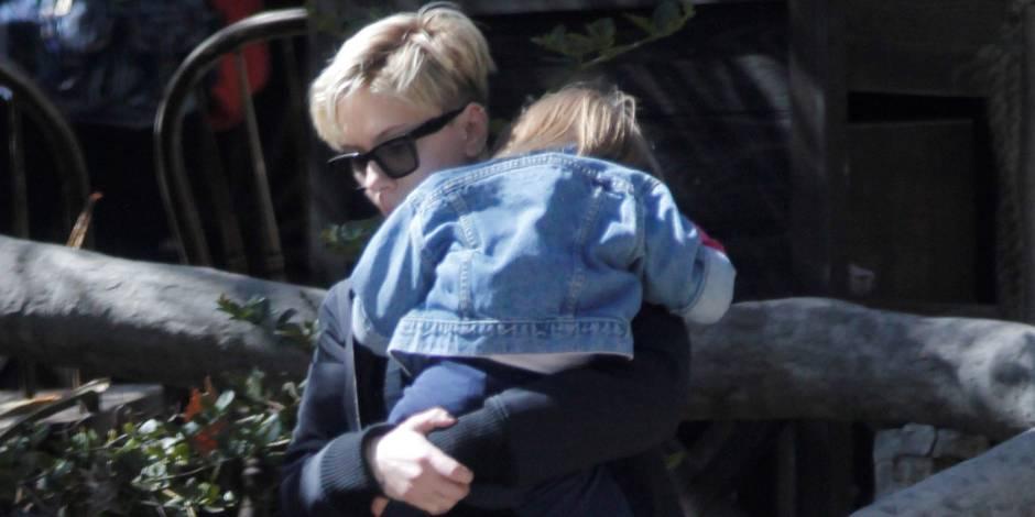 Scarlett Johansson et son ex se disputent la garde de leur petite fille