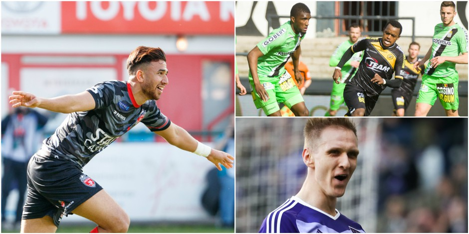 Mouscron reste en D1, Charleroi en PO1, Anderlecht leader