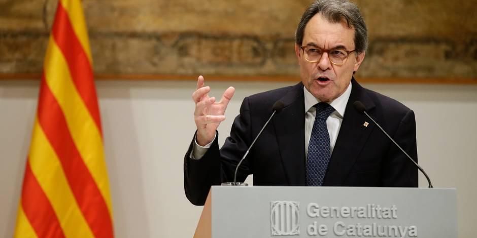 Catalogne: L'indépendantiste Artur Mas condamné à deux ans d'inéligibilité
