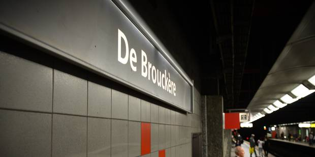 Le vaste chantier de rénovation des stations de métro De Brouckère et Bourse démarre - La Libre