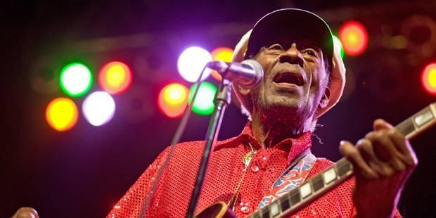 Chuck Berry, père fondateur et icône légendaire du Rock&Roll est décédé - La Libre