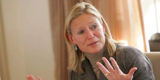 Sabine Sageart, ambassadrice 2017 de l'égalité hommes/femmes en entreprise - La Libre