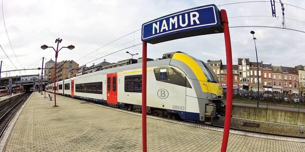 Namur: Gagnez du temps dans les trains - La Libre