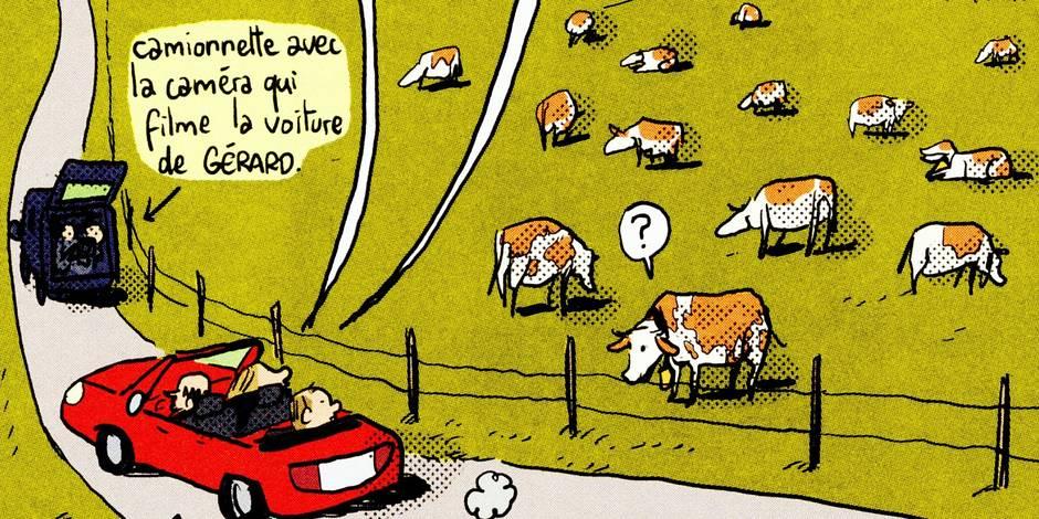 Bande dessinée : Mathieu Sapin s'attaque à Gérard Depardieu