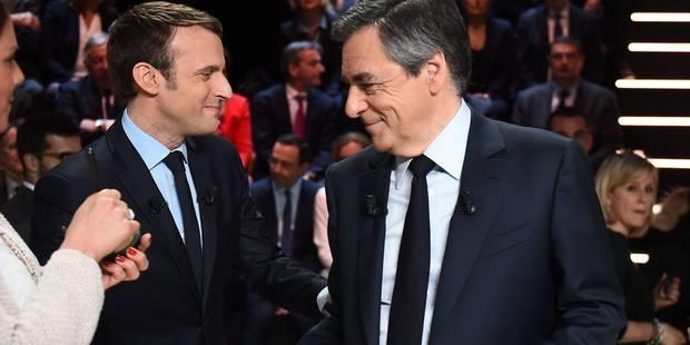 Macron ou Fillon, c'est bon pour les actions - La Libre