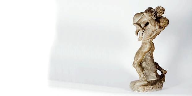 La découverte exceptionnelle d'une oeuvre inconnue de Rodin - La Libre