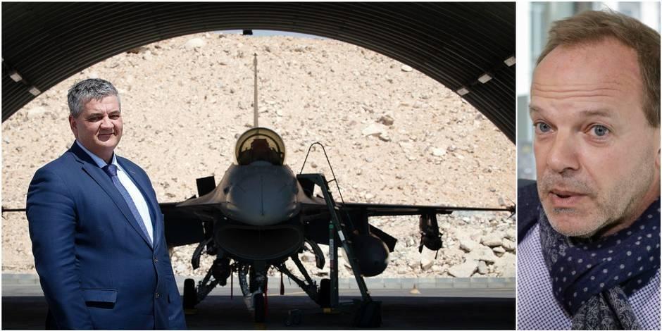 """""""Si les F-16 n'ont pas tué de civils irakiens, M. Hellings présentera-t-il ses excuses?"""""""