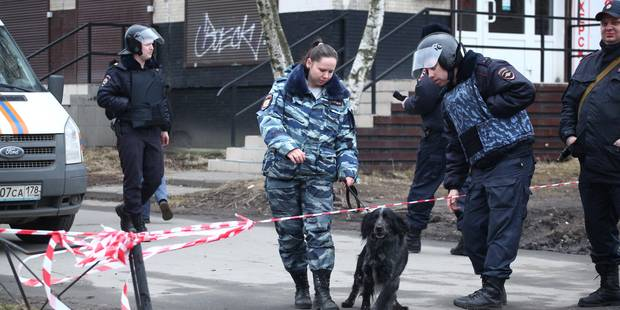 Attentat à Saint-Pétersbourg: 8 personnes arrêtées en Russie - La Libre