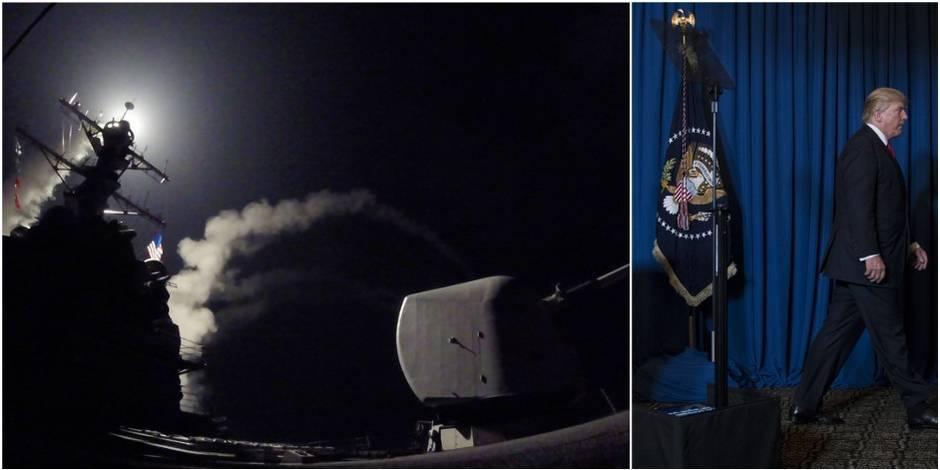En frappant la Syrie cette nuit, Trump a suivi les conseils... d'Erdogan