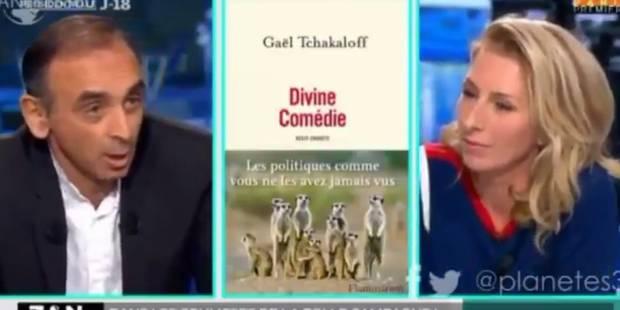 """Zemmour choque en s'en prenant à une journaliste: """"Moi je ne couche pas avec les politiques"""" - La Libre"""