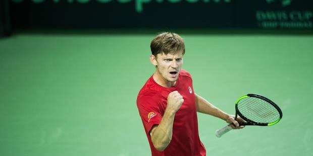 Coupe Davis: Goffin surclasse Lorenzi et qualifie la Belgique pour les demi-finales (6/3 6/3 6/2) - La Libre