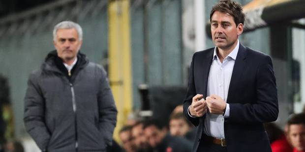 """Weiler, le coach d'Anderlecht: """"Bravo d'avoir fâché Monsieur Mourinho"""" - La Libre"""