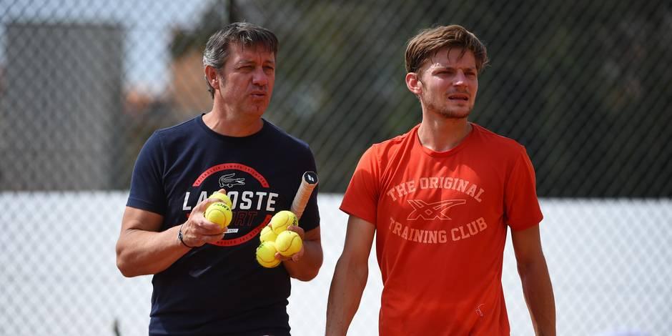 Monte Carlo: David Goffin s'impose face à Steve Darcis au premier tour