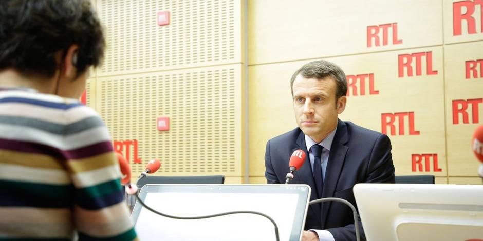 """Macron: """"Je ne vais pas inventer un programme de lutte contre le terrorisme dans la nuit"""""""