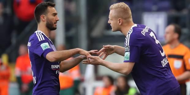 Anderlecht bat le Club Bruges 2-0 et fait un grand pas vers le titre - La Libre