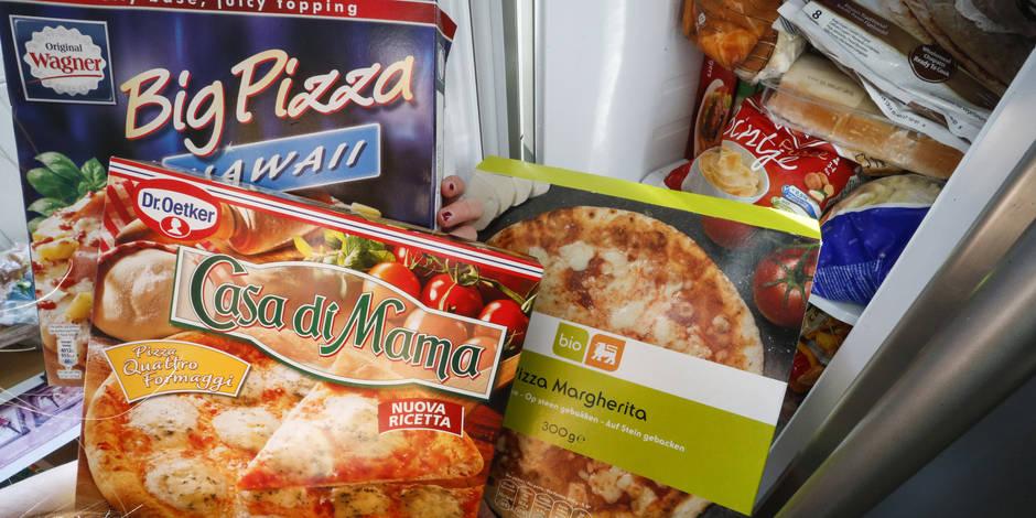 Le Belge, gros mangeur de pizzas surgelées