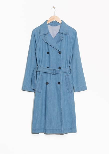 Version denim. Trench-coat denim,   & Other Stories, 99€