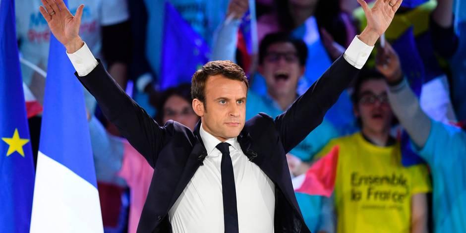 Edito : Macron, ce nom qu'il faut dire, haut et fort ! - La Libre