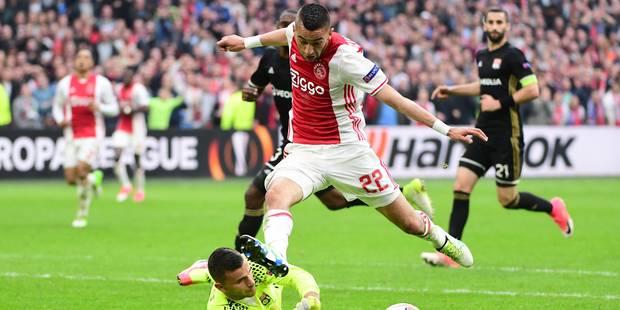 Europa League: l'Ajax Amsterdam bat largement Lyon et fait un grand pas vers la finale - La Libre
