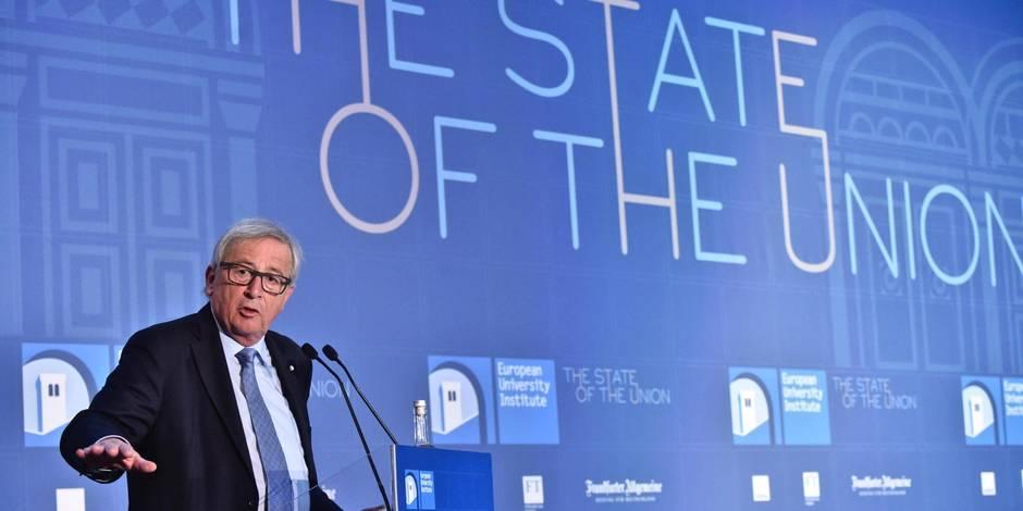 """Le Brexit est """"une tragédie"""", dit Juncker"""