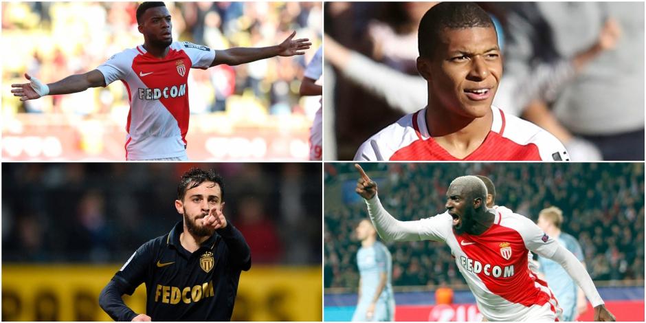 Mbappé, Silva, Fabinho, Lemar,... Voici les sept joyaux de Monaco - La Libre