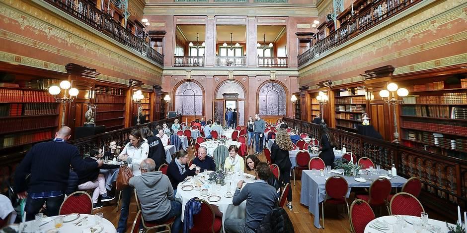 Photos Bernard Demoulin: Brunch a la Bibliotheque Solvay