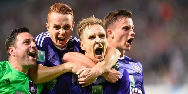 Anderlecht est champion de Belgique pour la 34e fois de son histoire - La Libre