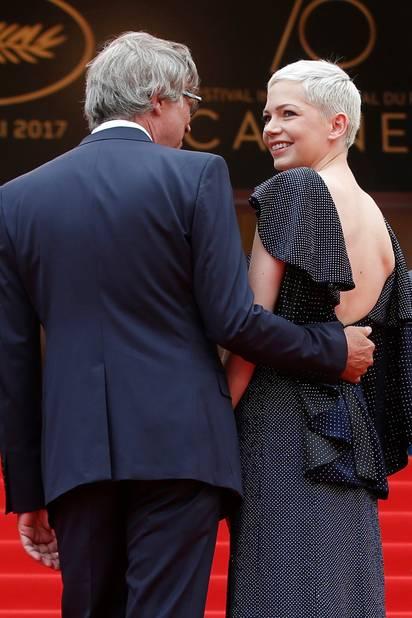 Michelle Williams, en Louis Vuitton