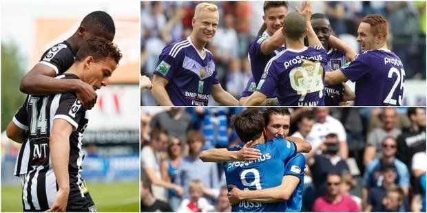 Anderlecht finit en beauté (3-2), Bruges bat Gand et jouera les qualifs de la Ligue des Champions - La Libre