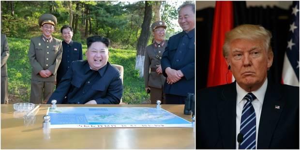 """Pour Trump, Kim est un """"fou avec des armes nucléaires"""" - La Libre"""