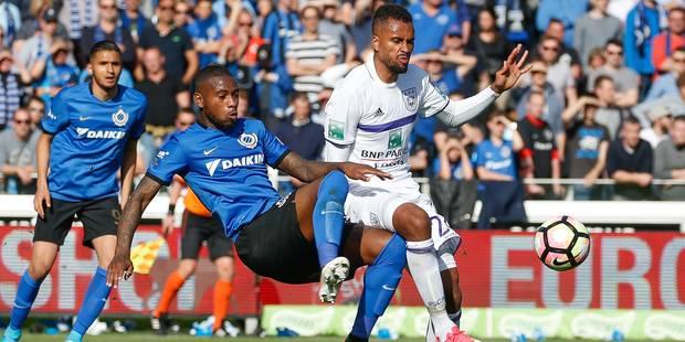L'attaquant suédois Thelin prolonge d'un an son séjour à Anderlecht - La Libre