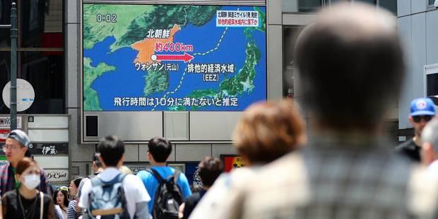 Les Etats-Unis confirment un nouveau tir de missile balistique nord-coréen - La Libre