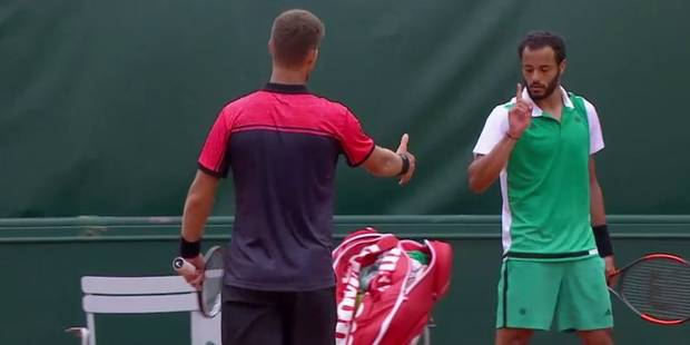 Roland-Garros: que s'est-il passé entre Klizan et Lokoli? - La Libre